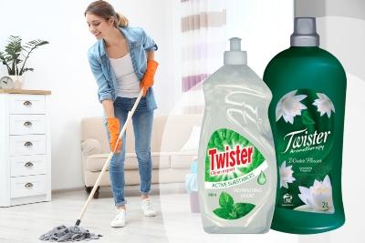 Čisticí prostředky Twister