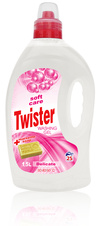 Twister tekutý prací gel Soft Care