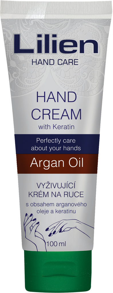 Lilien hand and nail cream Argan Oil 100ml limited edition